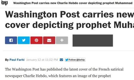 Washington Post Charlie Hebdo Cartoon