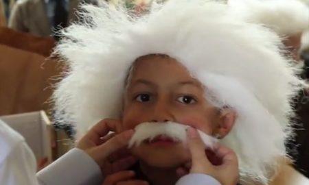 Albert Einstein Lookalike Video