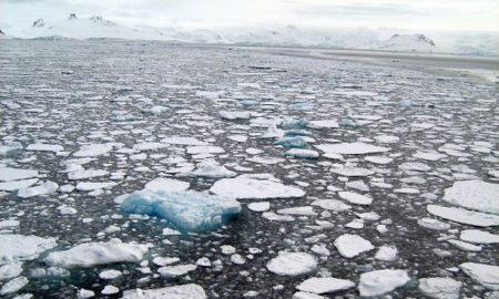 Sea Ice In Antarctica
