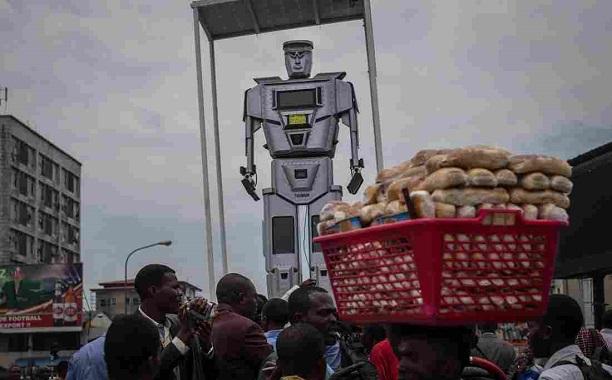 DR Congo Robot Cop