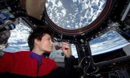 Astronaut Eating
