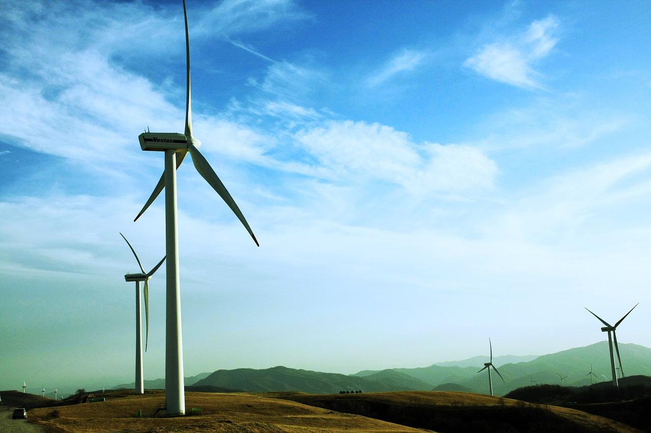 Windmills Generating Green Power