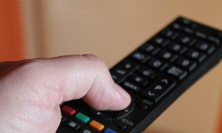 Finger on remote