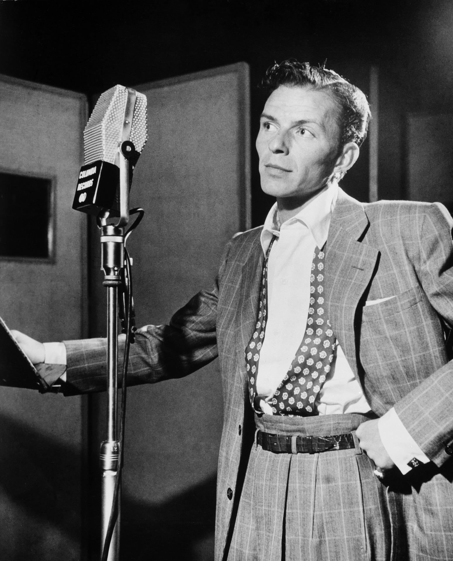Singer Frank Sinatra