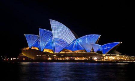 Australia At Night