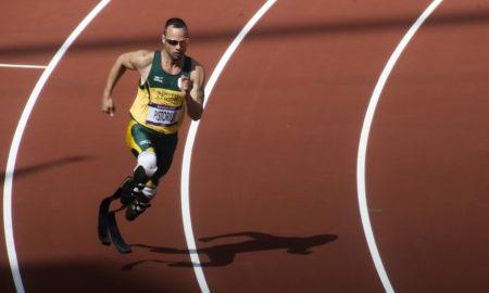 Oscar Pistorius Running