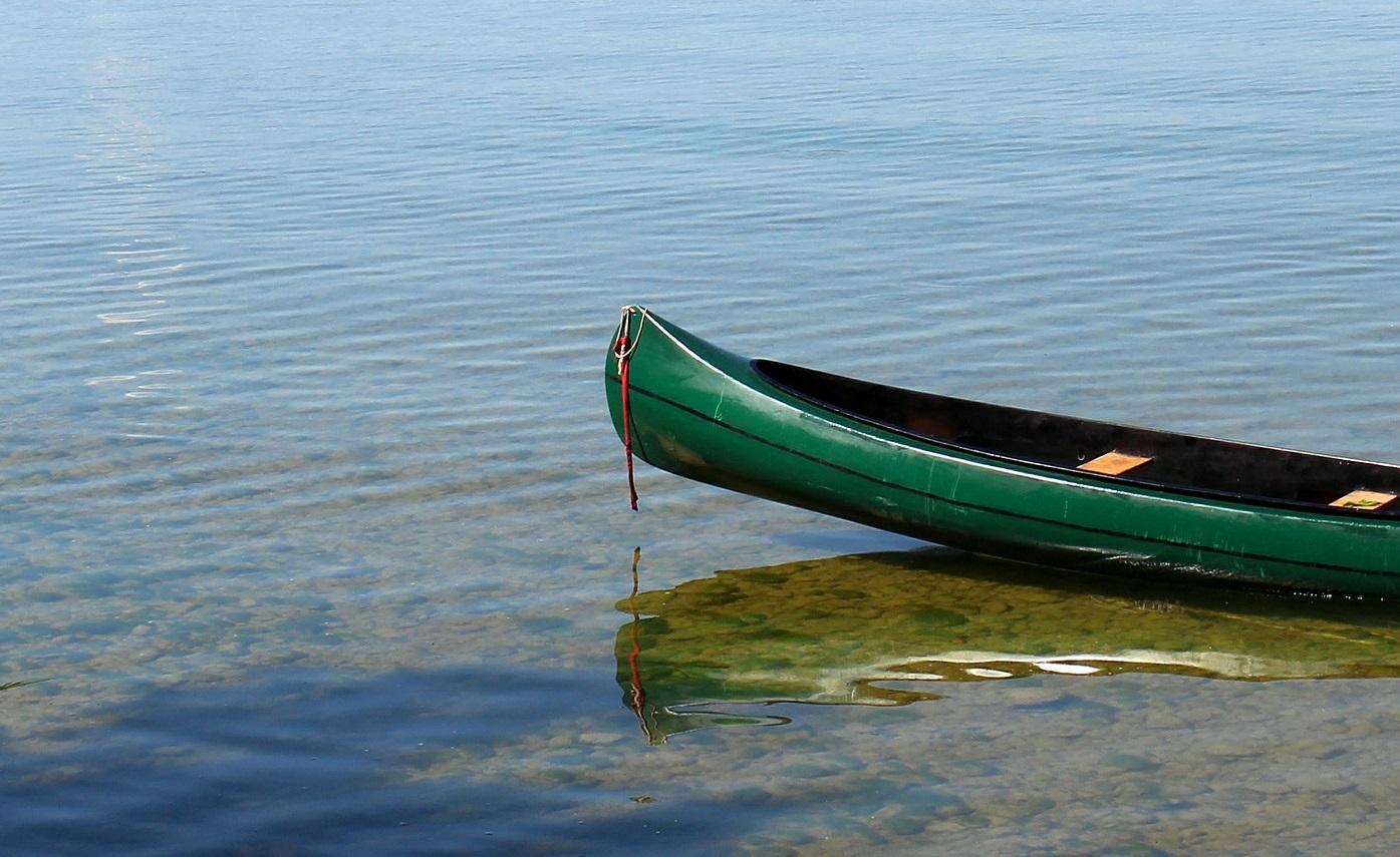 Canoe In The Water