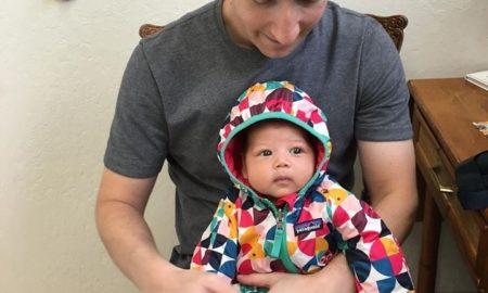 Mark Zuckerberg With Daughter