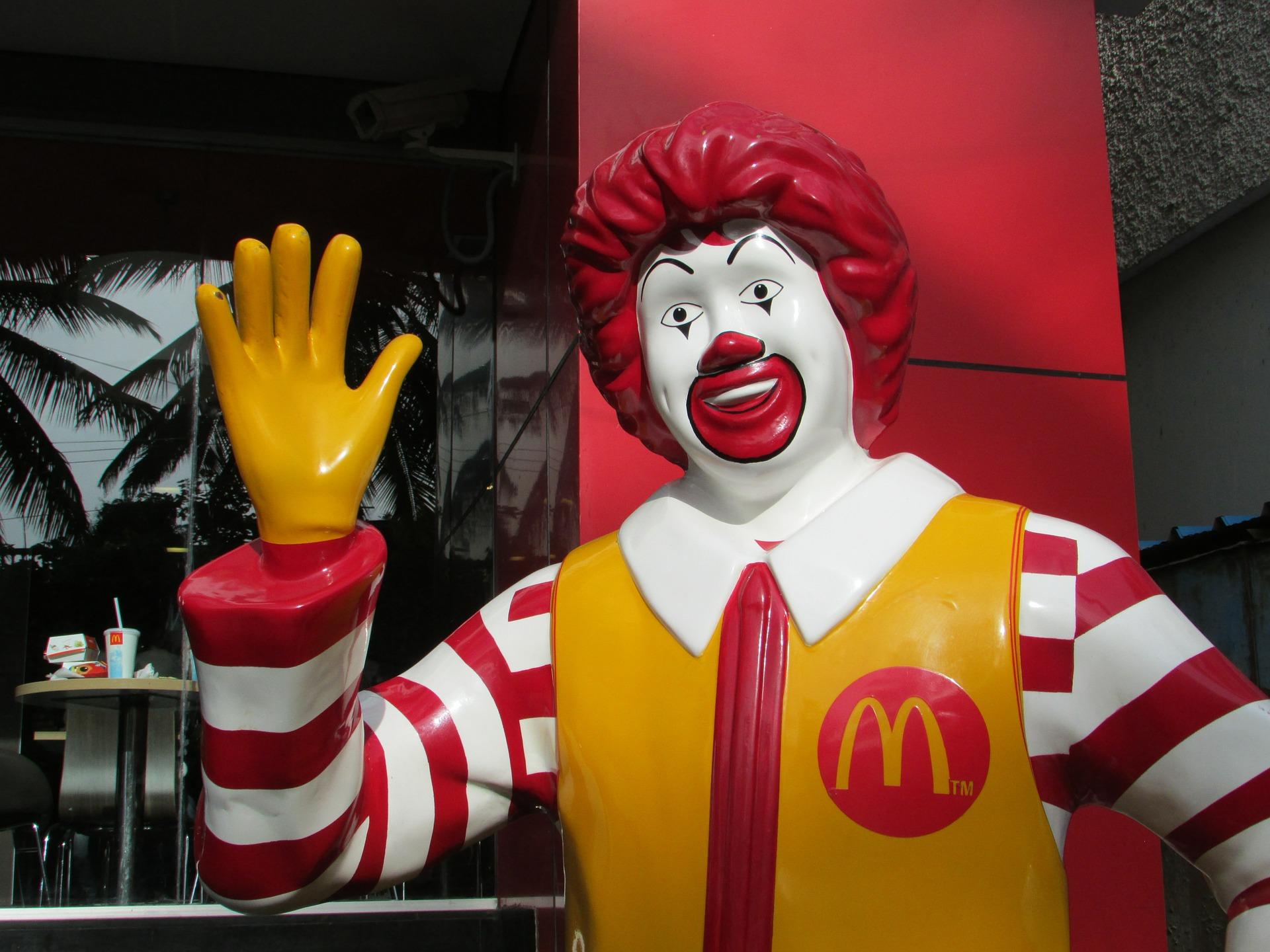 McDonald's Statue
