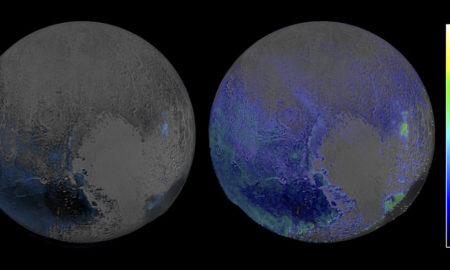 Water Ice On Pluto