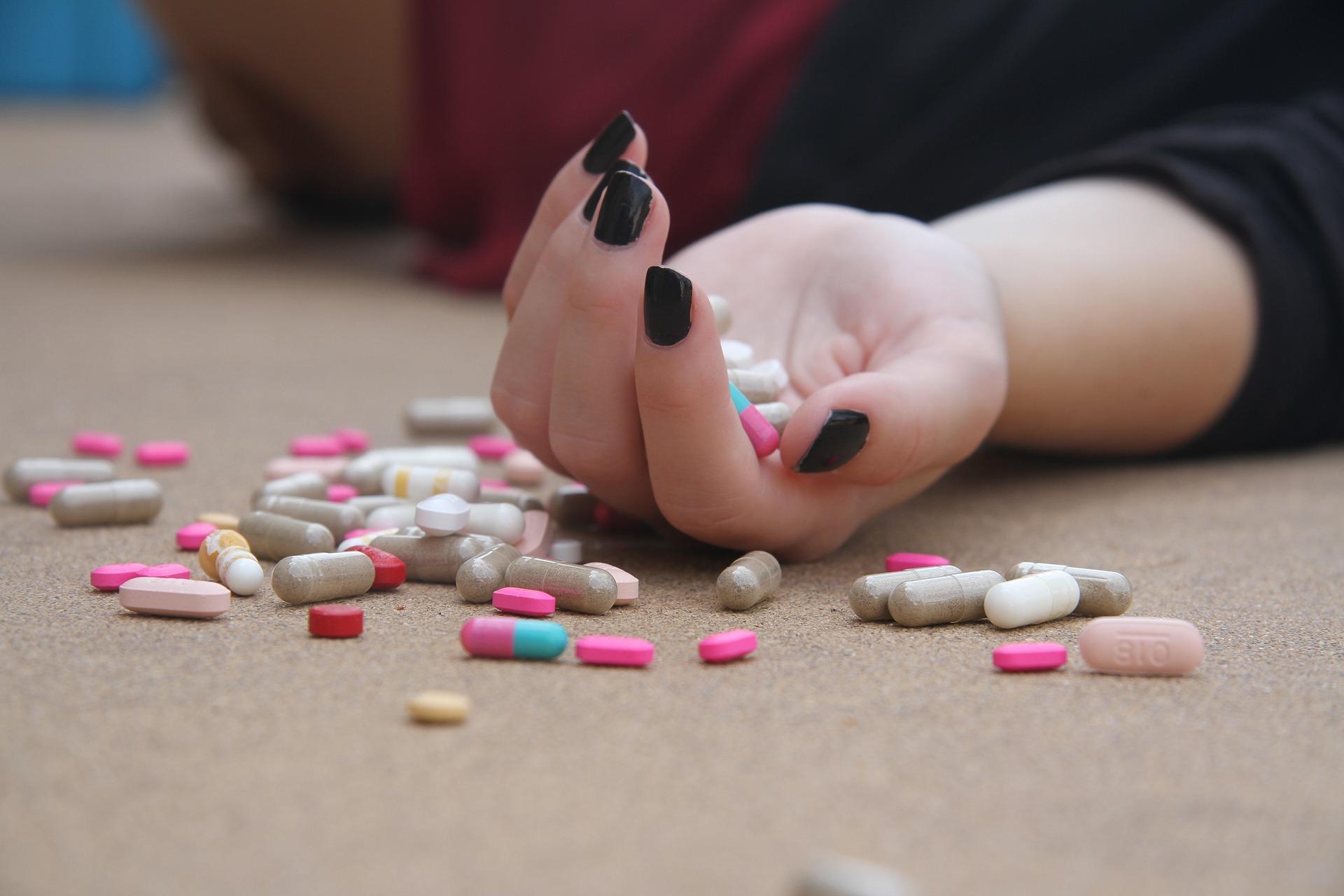 Prescription Pill Overdose Suicide